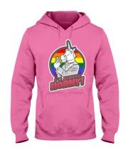 I'm always horny Unicorn Gay Pride Rainbow Circle Hooded Sweatshirt thumbnail