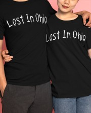 Lost In Ohio - Original Chest Text Classic T-Shirt apparel-classic-tshirt-lifestyle-front-120