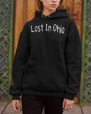 Lost In Ohio - Original Chest Text Hooded Sweatshirt apparel-hooded-sweatshirt-lifestyle-03