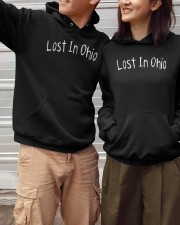 Lost In Ohio - Original Chest Text Hooded Sweatshirt apparel-hooded-sweatshirt-lifestyle-front-150