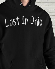 Lost In Ohio - Original Chest Text Hooded Sweatshirt apparel-hooded-sweatshirt-lifestyle-front-64