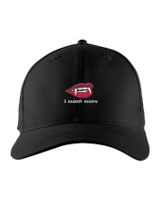 vampire wants more-Insatiable vampire-t-shirt Embroidered Hat thumbnail