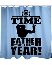 5 Time Father of the Year  Shower Curtain front
