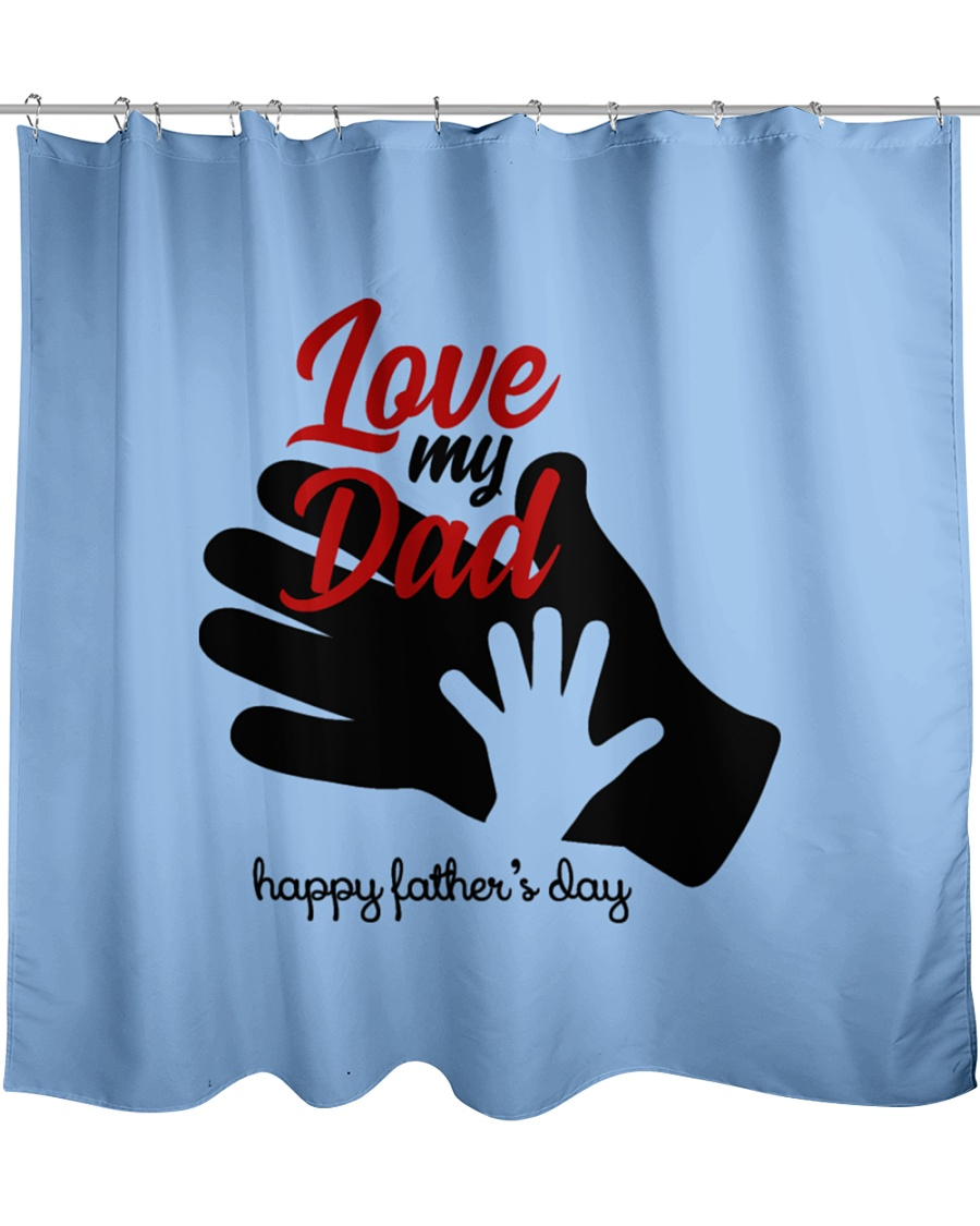 fathers day-dFoSx Shower Curtain