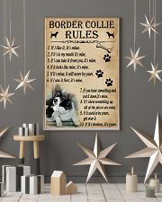 Funny Rules For Your Dog Border Collie 11x17 Poster lifestyle-holiday-poster-1