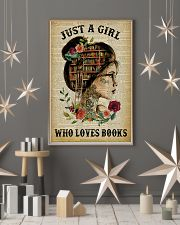 Just A Girl Who Loves Books Tattoo Reading 11x17 Poster lifestyle-holiday-poster-1