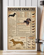 Knowledge Dachshund Wiener Dog 16x24 Poster lifestyle-poster-4