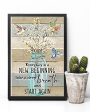 Hummingbird Everyday is a New Beginning 11x17 Poster lifestyle-poster-8