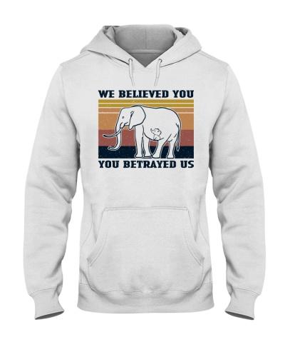 Retro Navy We Believed You Elephant
