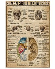Human Skull Knowledge 11x17 Poster front