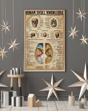 Human Skull Knowledge 11x17 Poster lifestyle-holiday-poster-1