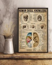 Human Skull Knowledge 11x17 Poster lifestyle-poster-3