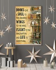 Books Give A Soul To The Universe Reading 16x24 Poster lifestyle-holiday-poster-1