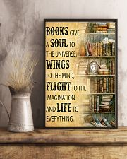 Books Give A Soul To The Universe Reading 16x24 Poster lifestyle-poster-3