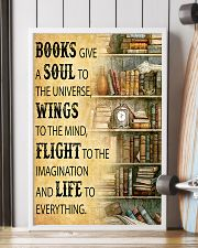 Books Give A Soul To The Universe Reading 16x24 Poster lifestyle-poster-4
