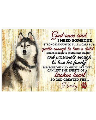 God Once Said Husky