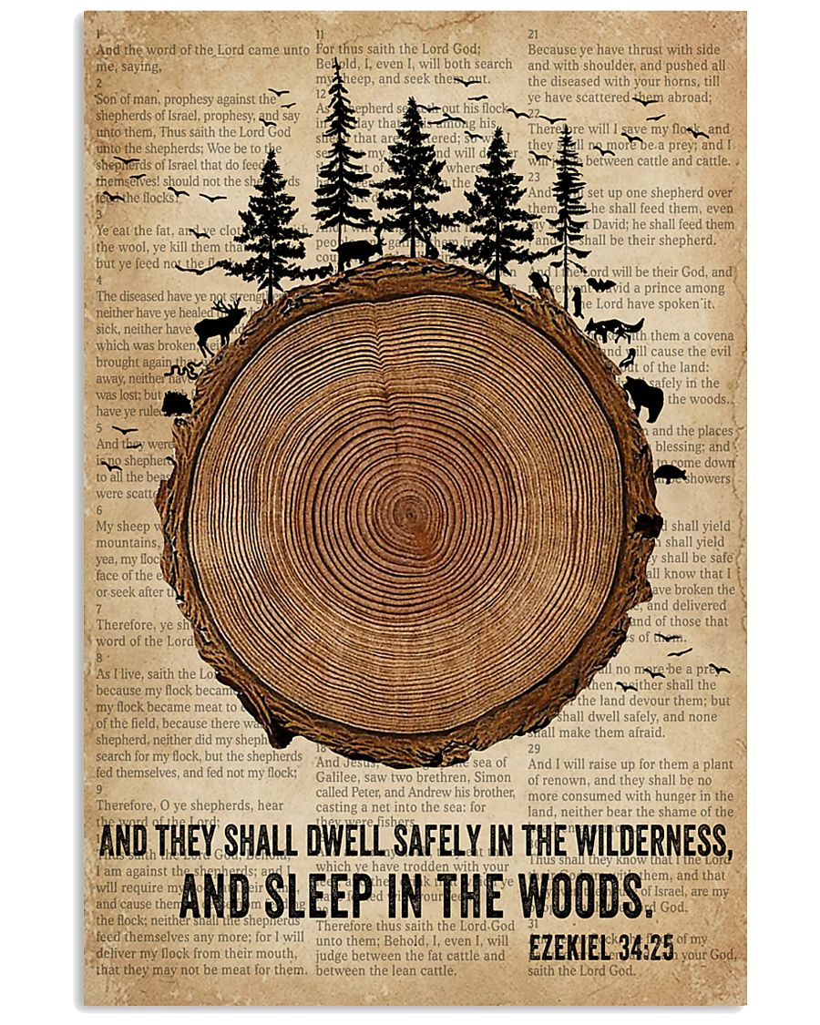 Bible Camping Come To The Woods 11x17 Poster