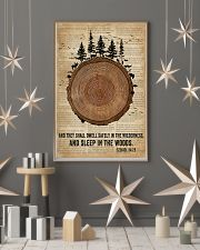 Bible Camping Come To The Woods 11x17 Poster lifestyle-holiday-poster-1
