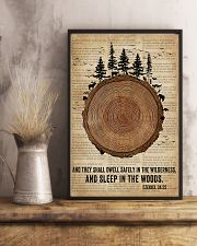 Bible Camping Come To The Woods 11x17 Poster lifestyle-poster-3