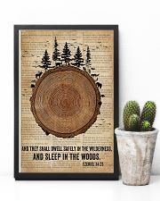 Bible Camping Come To The Woods 11x17 Poster lifestyle-poster-8