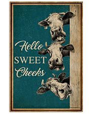 Retro Hello Sweet Cheeks Cow 16x24 Poster front