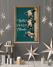 Retro Hello Sweet Cheeks Cow 16x24 Poster lifestyle-holiday-poster-1