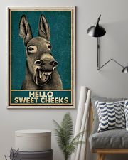 Hello Sweet Cheeks Laugh Donkey 16x24 Poster lifestyle-poster-1