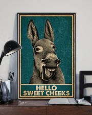 Hello Sweet Cheeks Laugh Donkey 16x24 Poster lifestyle-poster-2