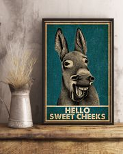 Hello Sweet Cheeks Laugh Donkey 16x24 Poster lifestyle-poster-3