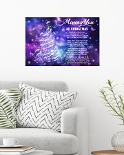 Lovers Missing You At Christmas Butterfly 24x16 Poster poster-landscape-24x16-lifestyle-01