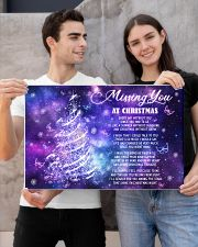 Lovers Missing You At Christmas Butterfly 24x16 Poster poster-landscape-24x16-lifestyle-21