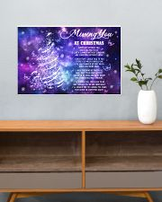 Lovers Missing You At Christmas Butterfly 24x16 Poster poster-landscape-24x16-lifestyle-25