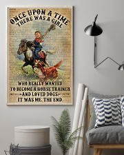 Dictionary Horse Trainer Girl Love Dog 11x17 Poster lifestyle-poster-1