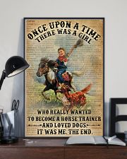 Dictionary Horse Trainer Girl Love Dog 11x17 Poster lifestyle-poster-2