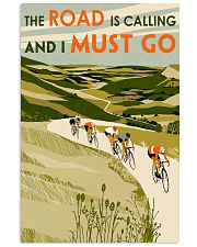 The Road Is Calling Cycling 11x17 Poster front