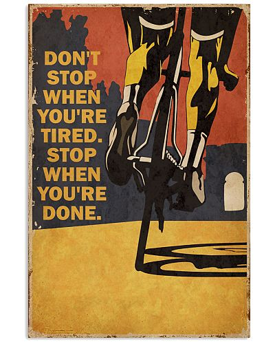 Vintage Don't Stop Cycling