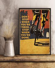 Vintage Don't Stop Cycling 11x17 Poster lifestyle-poster-3