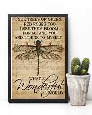 Music Sheet And I Think Dragonfly 11x17 Poster lifestyle-poster-8