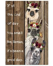 Wood Piece You Smell Like Llama 11x17 Poster front
