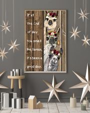 Wood Piece You Smell Like Llama 11x17 Poster lifestyle-holiday-poster-1