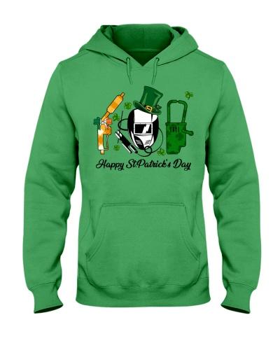 Welder Happy St Patrick's Day