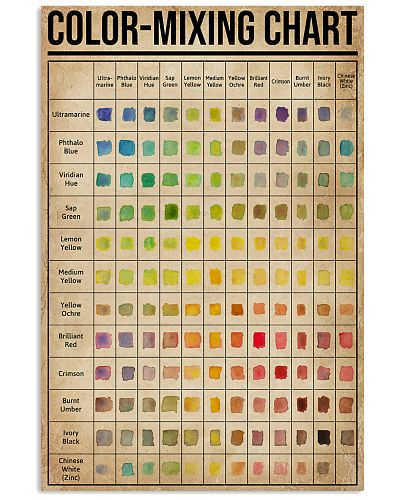 Painting Color-Mixing Chart