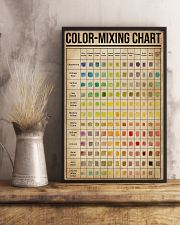 Painting Color-Mixing Chart  11x17 Poster lifestyle-poster-3