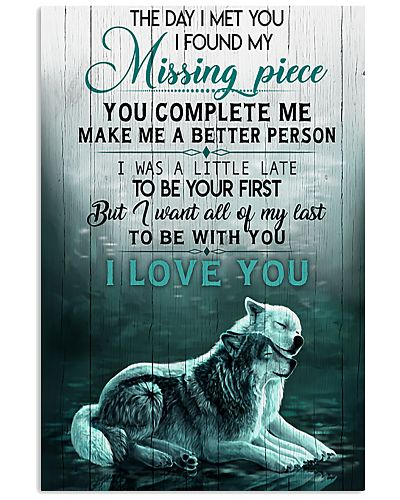 Wolf To My Wife The Day I Met You