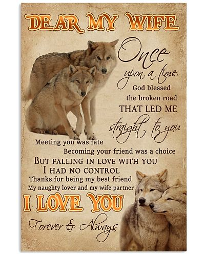 Dear My Wife Straight To You Wolf
