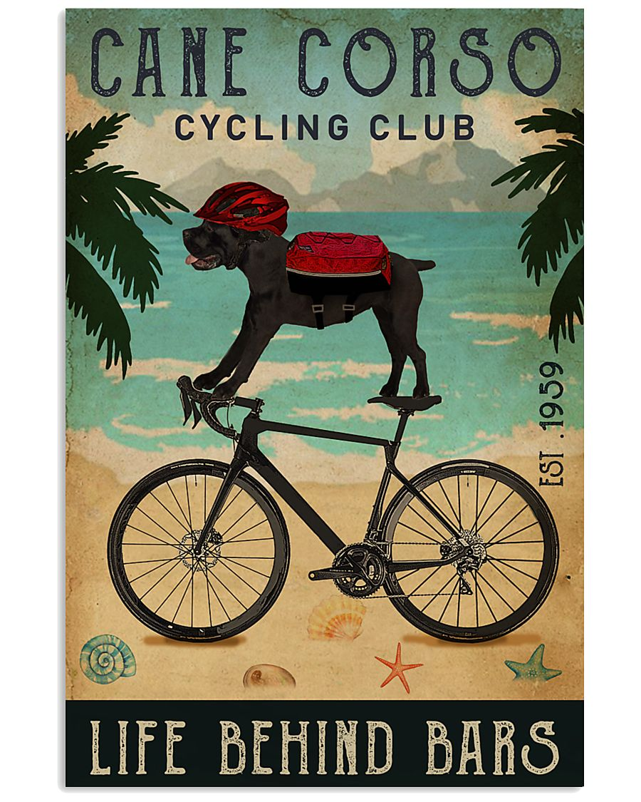 Cycling Club Cane Corso 11x17 Poster
