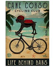 Cycling Club Cane Corso 11x17 Poster front