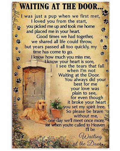 Waiting At The Door Labrador Retriever