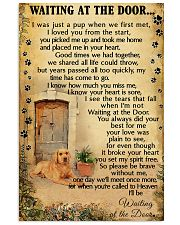 Waiting At The Door Labrador Retriever 11x17 Poster front
