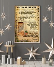 Waiting At The Door Labrador Retriever 11x17 Poster lifestyle-holiday-poster-1